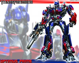 Top 10 Cartoon Characters - Optimus Prime