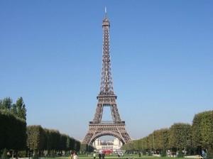 Top 10 Historical Landmarks - Eiffel Tower