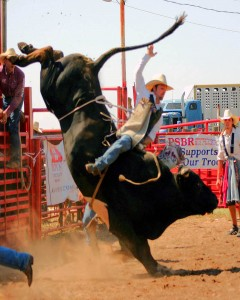 Top 10 Most Dangerous Sports - Bull Riding