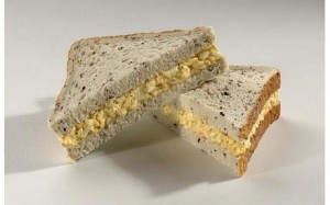 Top 10 Sandwiches - Egg Mayonnaise