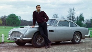 Top Ten Famous Film Cars - Aston Martin DB 5
