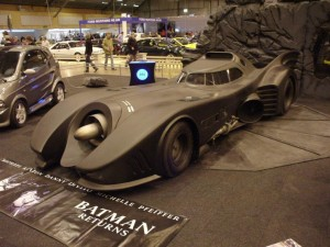 Top Ten Famous Film Cars - Batmobile