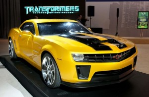 Top Ten Famous Film Cars - Bumblebee