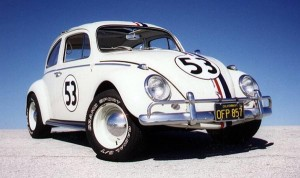 Top Ten Famous Film Cars - Herbie