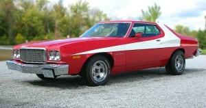 Top Ten Famous Film Cars - Starsky and Hutchs Torino
