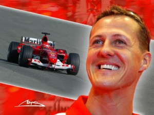Top 10 Sports Stars - Michael Schumacher