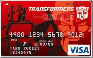 Top 10 Credit Cards - Transformers Visa