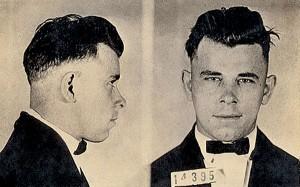 Top 10 Gangsters - John Dillinger